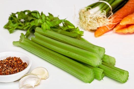 Celery for brain food