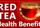 Red Tea Health benefits
